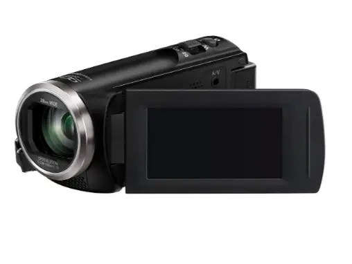 ​3. Panasonic Full HD Camcorder HC-V180K