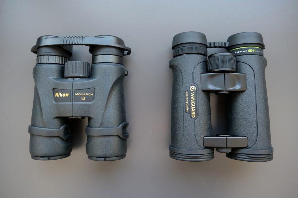 Nikon Monarch 5 8×42 And Vanguard Endeavor ED II 8×42