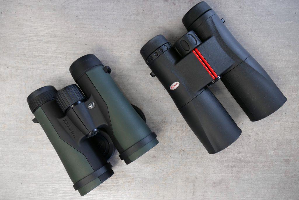 Vortex Crossfire 10×42 & Kowa SV 10×42