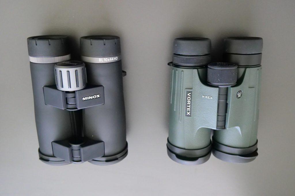 Minox BL 10x44 HD and Vortex Viper HD 10x42 Focusing system
