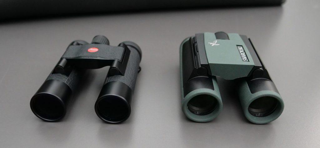 Leica Ultravid 10x25 BL AquaDura and Swarovski CL Pocket 10x25