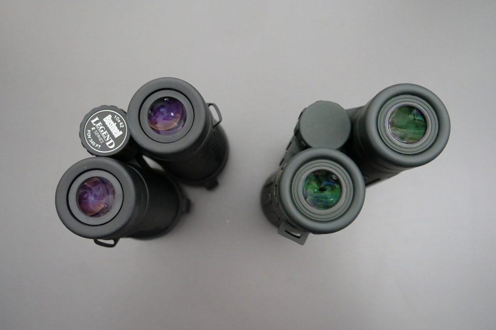 Bushnell Legend E 10x42 and Steiner Observer 10x42