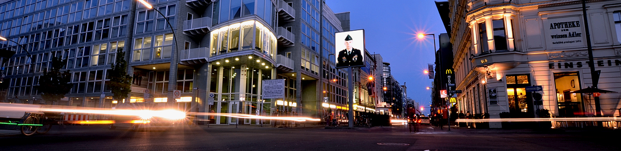 Checkpoint Charlie Berlin Germany James Bond