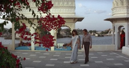 James Bond Octopussy on the Taj Lake Palace Udaipur