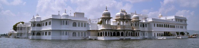 James Bond Octopussy Lily Pond Taj Lake Palace Udaipur