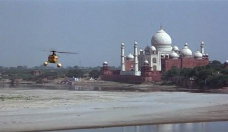 Taj Mahal sunrise James Bond