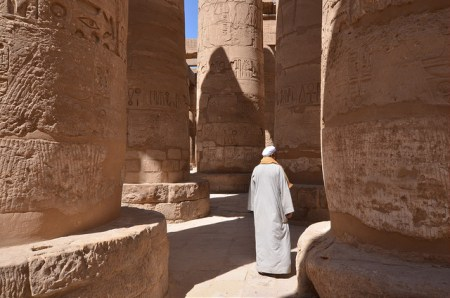 Karnak Temple Luxor James Bond