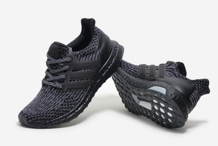 new styles 3aeaf 6ea91 adidas Ultra Boost 3.0 Black Silver - HUNTING FOR KICKS