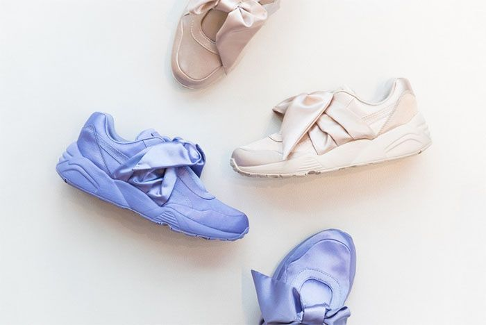 puma rihanna rose pale