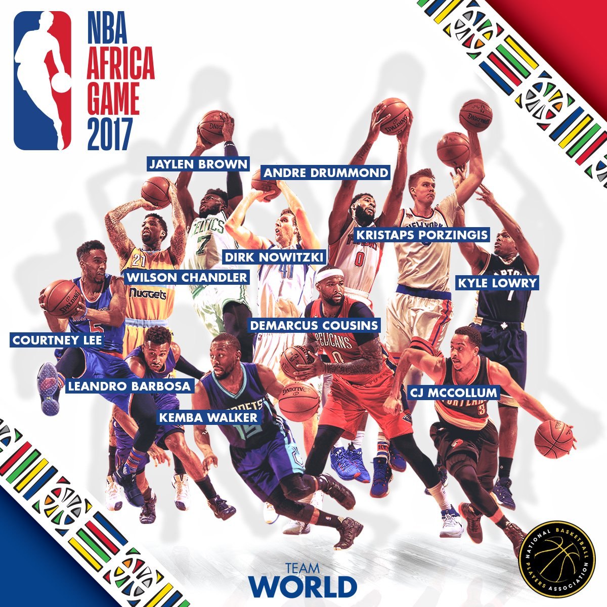 NBA announces Africa Game rosters