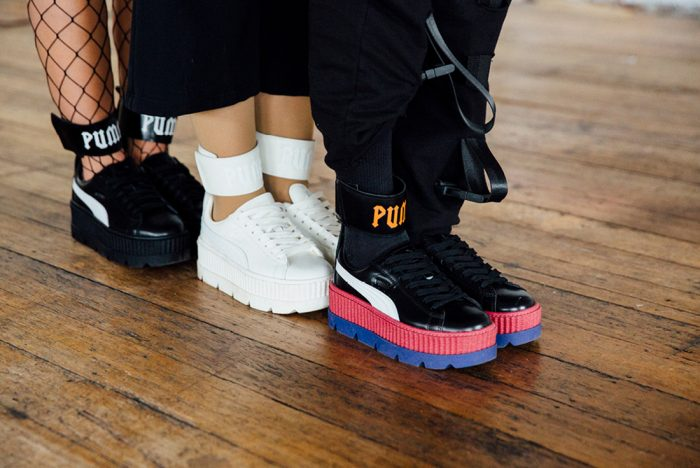 puma creepers ankle strap