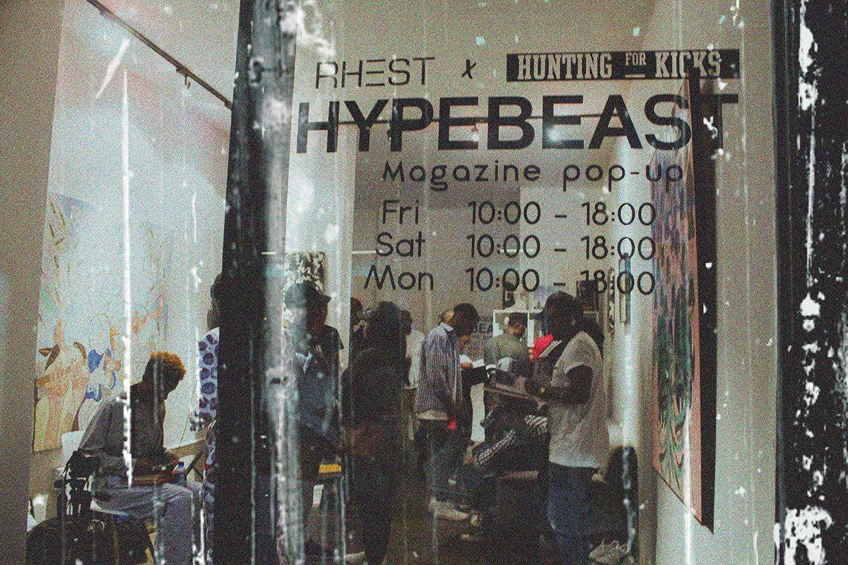 The Hypebeast Magazine Pop Up