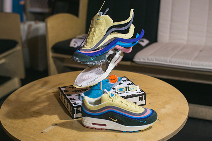 Dude Destroys Sean WotherSpoon's Air Max 97/1