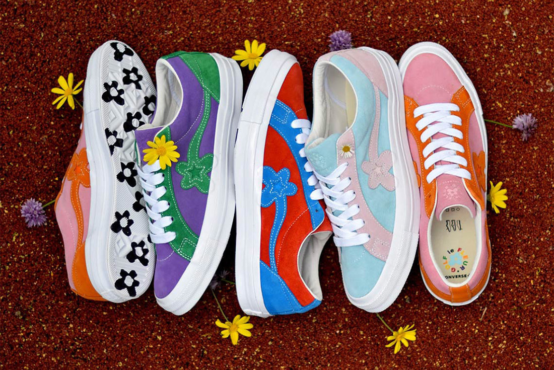 A Closer Look at Tyler, The Creator's Next Converse Golf le Fleur Collection