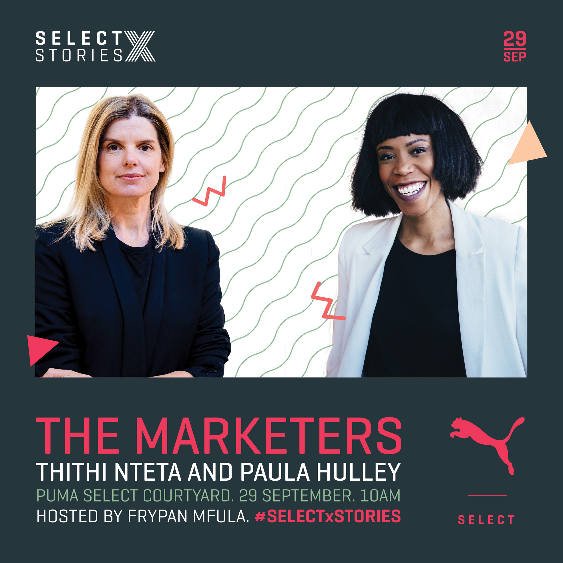 """The Marketers"" to speak at upcoming PUMA Select X Stories"