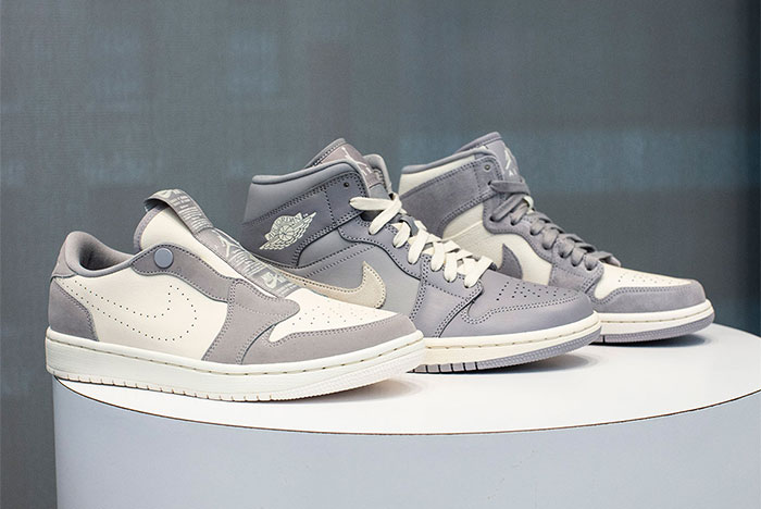 The Air Jordan 1 Lineup Goes 'Cool Grey' for Summer Months
