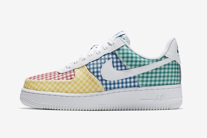 Nike Announce 'Gingham Pack' with Two Fresh Air Force 1s