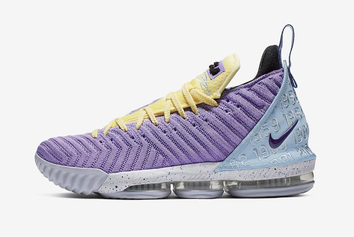 Official Pics and Release Date: Nike LeBron 16 'Heritage'