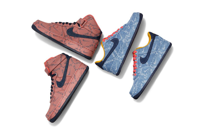 The 'Nike by Levi's' pack gets a release date!