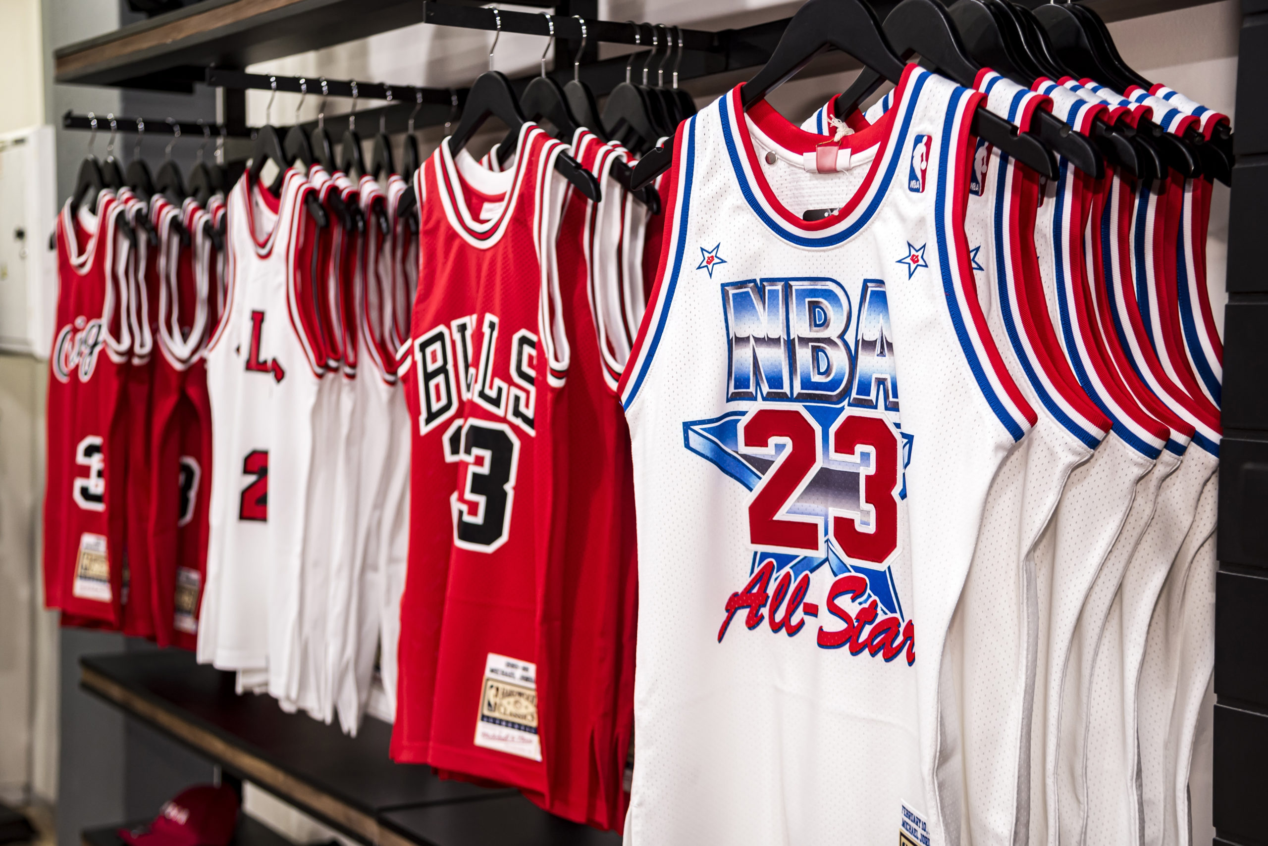 Event Recap :  Mitchell & Ness Michael Jordan Jerseys