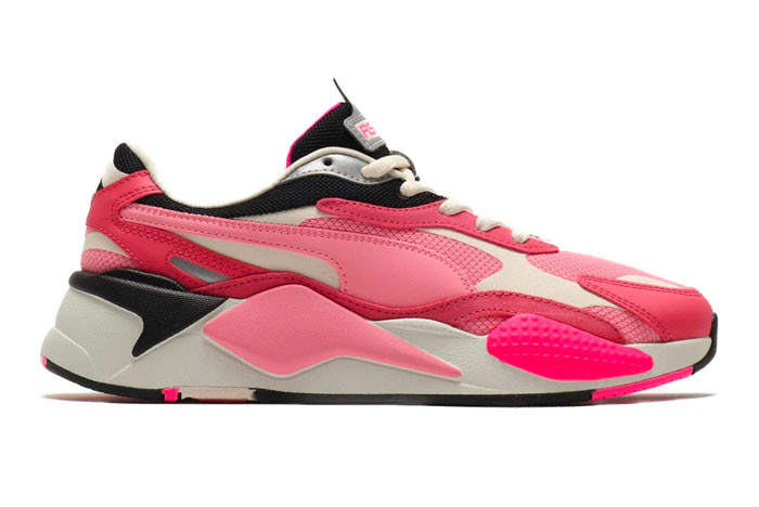 PUMA Drop RS-X3 Puzzle 'Char Rose' and 'Limestone'