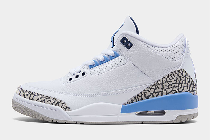 The Air Jordan 3 'UNC' is Ready to Rumble