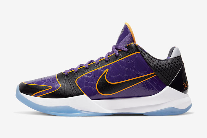 Official Images: Nike Kobe 5 Protro 'Lakers'
