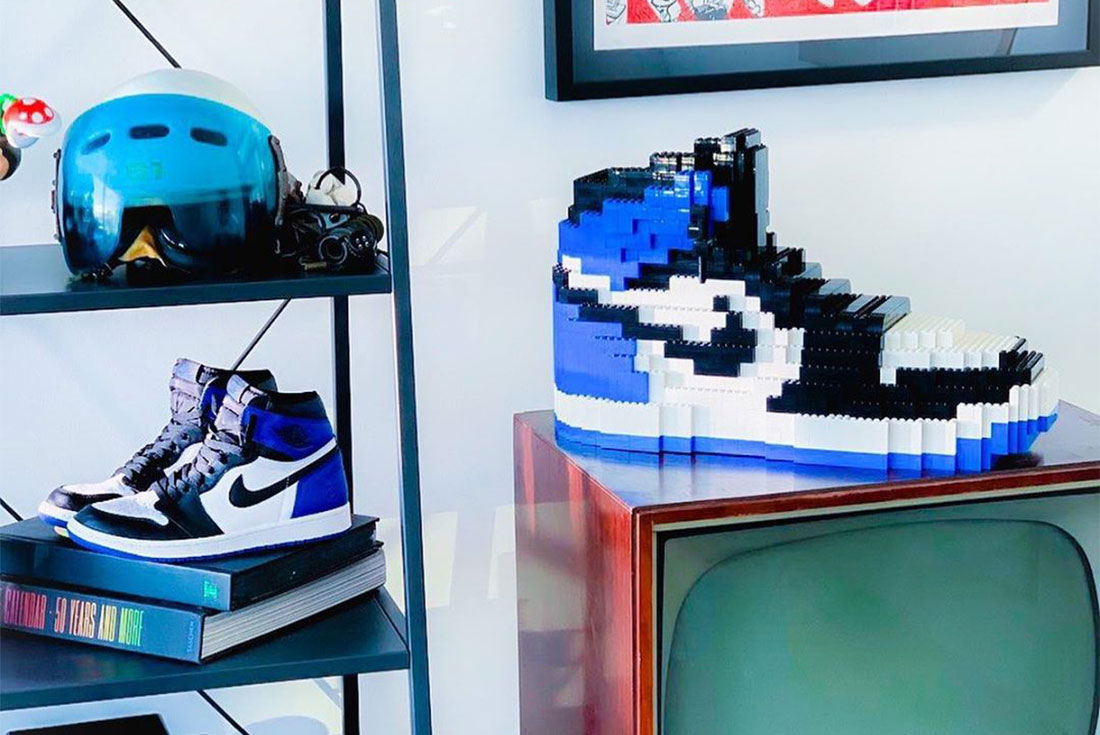 Learn How to Make Jordan and Nike Sneakers Out of LEGO