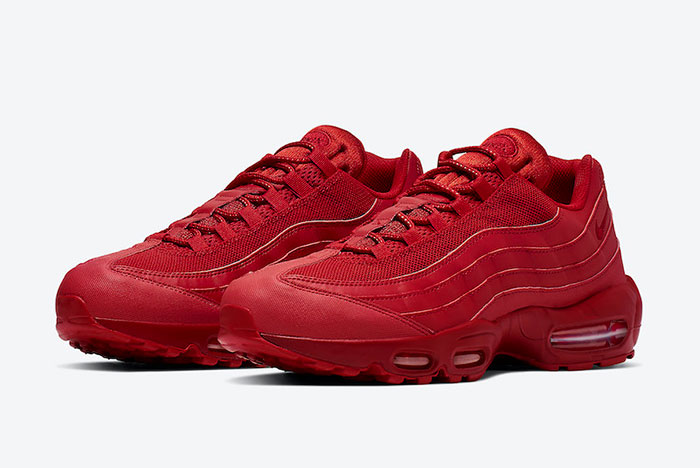 Red Nike Air Max 95s Recall Red October