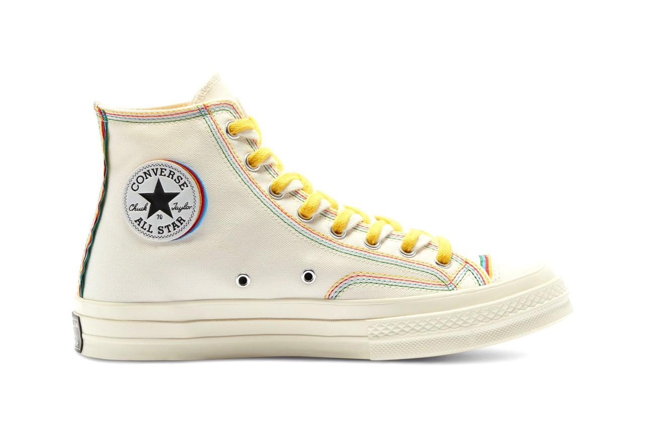 "Converse Chuck 70 ""Layers"" Supplies Stacked Multicolour Seams"