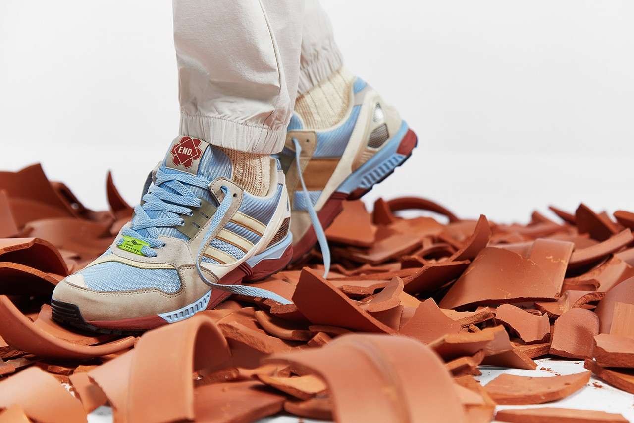 END. and adidas Link-Up for Crafty ZX 9000