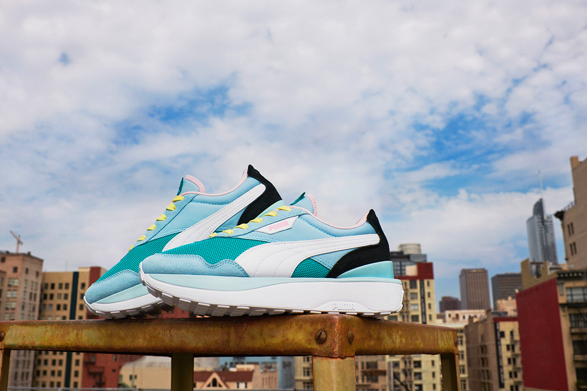 Make Moves in the all new PUMA Cruise Rider
