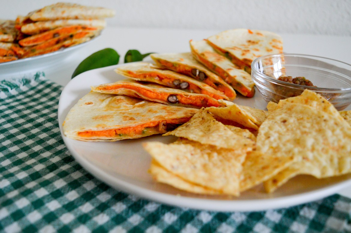 Sweet Potato Quesadilla Recipe | Hunting for Pink Flamingos