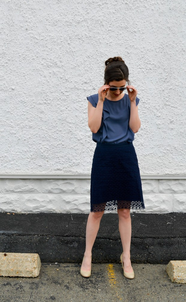 Ruffled Top for Spring