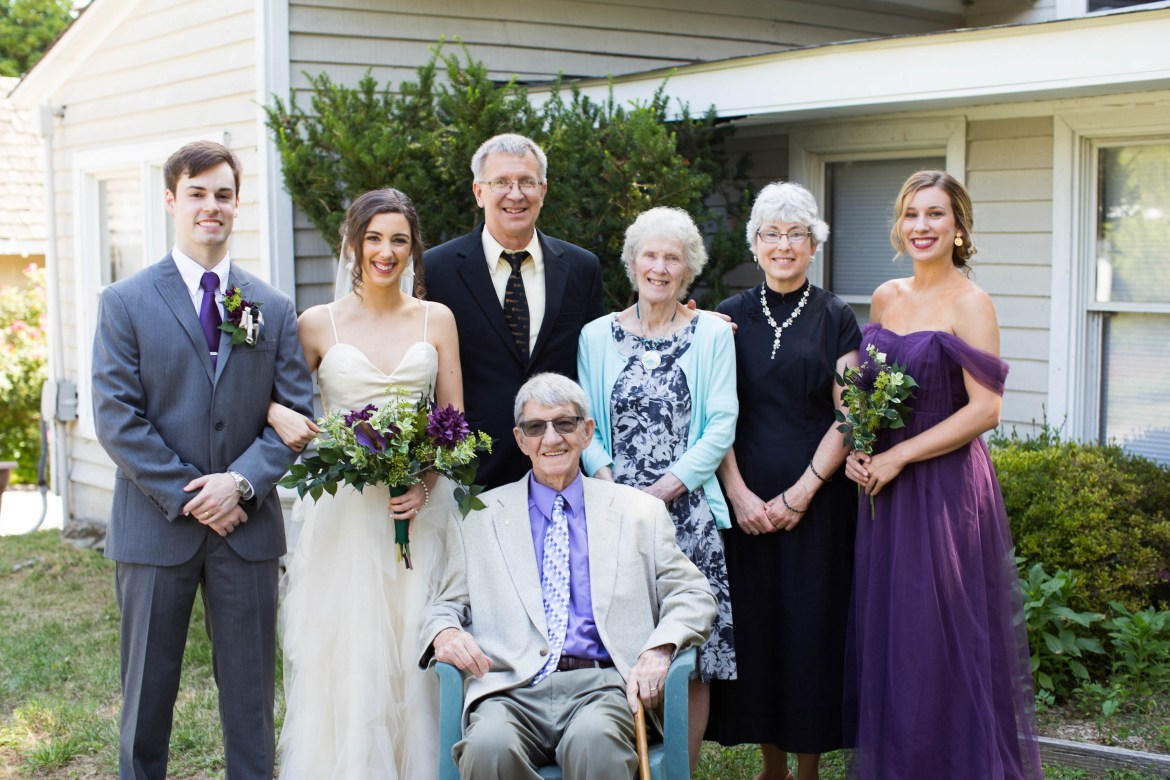 Our wedding | The bride's family