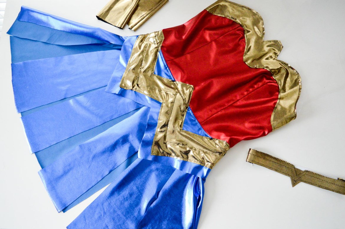 How to Sew Your Own Wonder Woman Costume