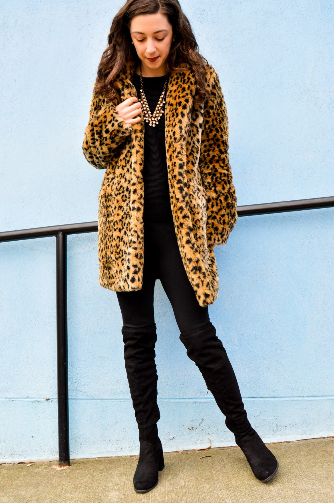 Target Style // A New Day Leopard Print Coat