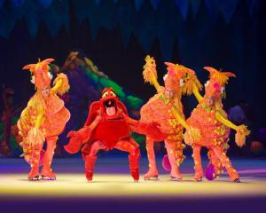 The Little Mermaid in Disney on Ice presents World of Enchantment at the BB&T Center in Sunrise, Florida.