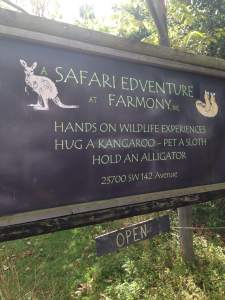Open Sign at Safari Edventure
