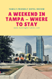 A Family-Friendly Hotel on Tampa Bay with a great view, convenient location, and under $100.