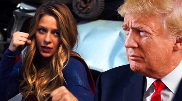 Super Girl-Donald-Trump