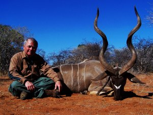 Hunting kudu in South Africa with Mkulu African Hunting Safaris