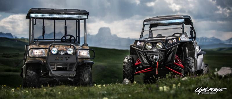 Make your atv or utv shine with lightforce led light bars utv market by allowing the enthusiast to reap the benefits of super bright super versatile and super tough lightforce light bars lightforce led light mozeypictures Choice Image