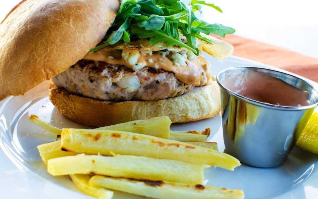 Farmhouse Turkey Burger by Lindsey Bartosh