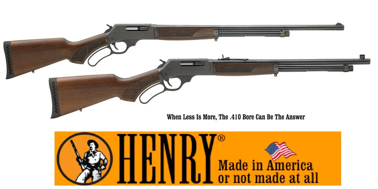 Henry Lever Action  410 Shotgun Review