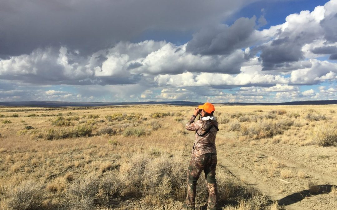 A Search for Pronghorn and Self- A Woman's Solo Adventure