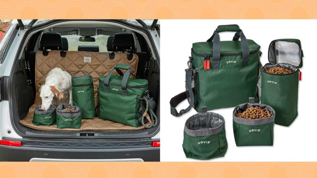 Orvis Dog Travel Kit