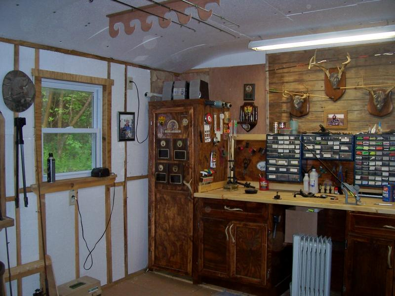 New Man Cave Bow Shop  Bow Hunting  Hunting New York