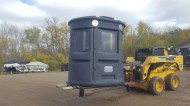 Portable, Height Adjustment, 2' high, 16' high, Onsite Setup, Skid Loaders, Forklifts, Manpower, Winching, Truck Boxes