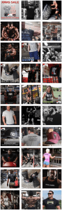 Social Media Grid Example From Iron Rebel